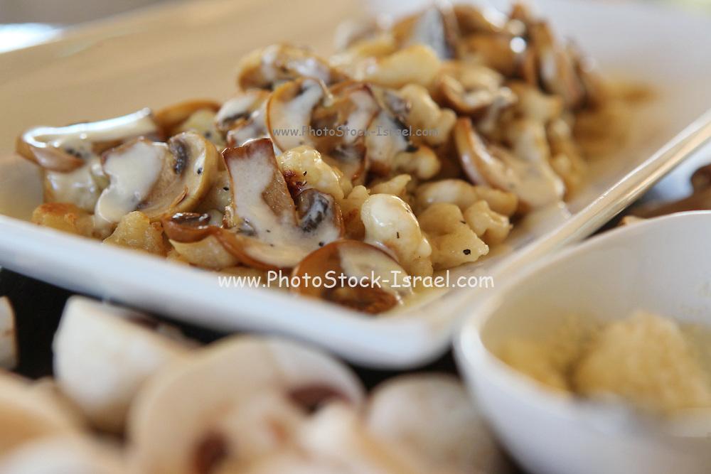 Cooked mushroom