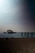 Brighton, Sussex, England. UK,  Tuesday,  21/09/2021, General Views, West Beach Area, [Mandatory Credit: Pete SPURRIER].