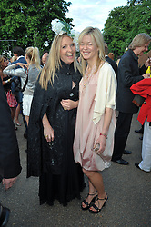 Left to right, KATRINE BOORMAN and LADY HELEN TAYLOR at the annual Serpentine Gallery Summer Party sponsored by Canvas TV  the new global arts TV network, held at the Serpentine Gallery, Kensington Gardens, London on 9th July 2009.