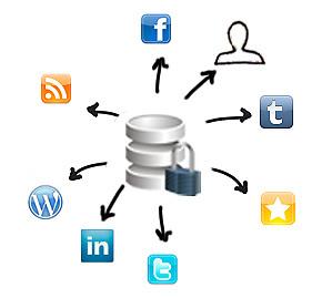ImageVault photo sharing to social media like LinkedIn, Facebook, Twitter and Wordpress