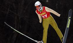 Marjan Jelenko of SSK Velenje at Slovenian National Championship in Ski Jumping on February 12, 2008 in Kranj, Slovenia . (Photo by Vid Ponikvar / Sportal Images).
