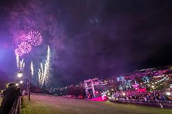 Fireworks at 9pm, Edinburgh's Hogmanay Street Party, Sunday 31st December.