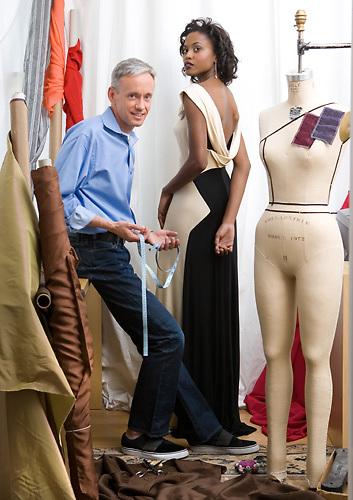 Mark Dillingham Clothing Designer<br /> Location:  4413 15th Street NW.  Washington, DC.<br /> Caption: Mark Dillingham Fashion Designer in his DC workroom.