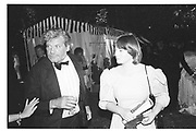 Oliver Reed and Josephine Burge. Berkeley Square Ball. 8 July 1985  SUPPLIED FOR ONE-TIME USE ONLY> DO NOT ARCHIVE. © Copyright Photograph by Dafydd Jones 66 Stockwell Park Rd. London SW9 0DA Tel 020 7733 0108 www.dafjones.com