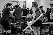 New York City Opera rehearsal of Candide