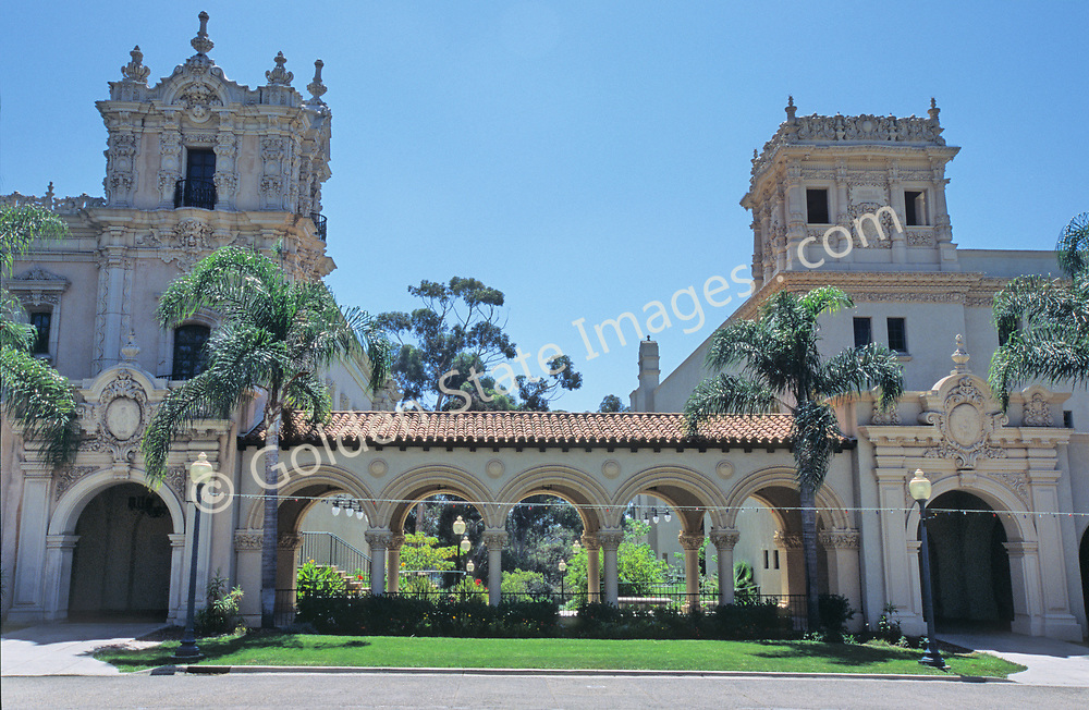 """Balboa Park, located near downtown San Diego, is a historic architetural jewel featuring museums, an arts village, gardens, restaurants, hiking trails, The Old Globe theatre complex and the world famous San Diego Zoo. <br /> <br /> By the 1890's, under the auspices of Kate Sessions, """"The Mother of Balboa Park,"""" the park transformed from a unmanaged space of land into a lush landscape of popular plants including bird of paradise, queen palms and poinsettias. <br /> <br /> The 1915-16 Panama-California Exposition held in Balboa Park marked the opening of the Panama Canal and sparked the design of the Park as it appears today. Most of the arts organizations along Balboa Park's famous El Prado pedestrian walkway are housed in Spanish-Renaissance style buildings constructed for the 1915 Exposition. <br /> <br /> It introduced the beautiful ornamental architectural style to the United States."""