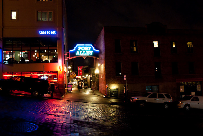 Post Alley - Seattle, Washington