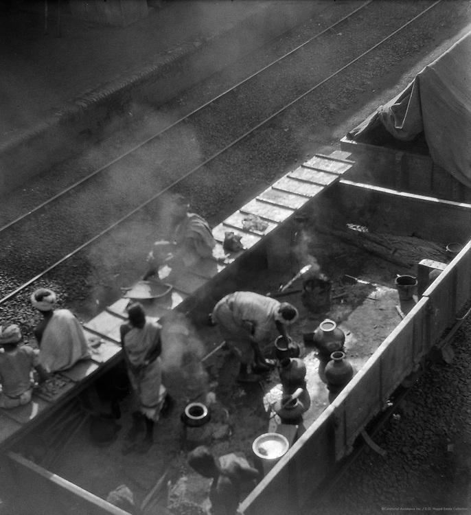 Bolpur Railway Station, near Calcutta, India, 1929