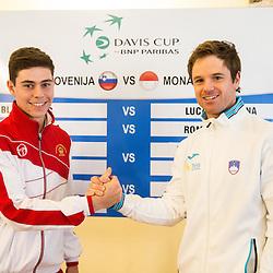20170202: SLO, Tennis - Davis Cup Slovenia vs Monaco, Draw