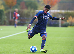 November 6, 2018 - London, England, United Kingdom - Enfield, UK. 06 November, 2018.Nigel Thomas of PSV Eindhoven.during UEFA Youth League match between Tottenham Hotspur and PSV Eindhoven at Hotspur Way, Enfield. (Credit Image: © Action Foto Sport/NurPhoto via ZUMA Press)