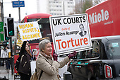 Protests over Assange Extradition