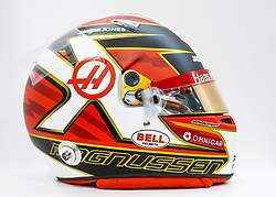 February 18, 2019 - Barcelona, Spain - Helmet of MAGNUSSEN Kevin (dnk), Haas F1 Team VF-19 Ferrari, during Formula 1 winter tests from February 18 to 21, 2019 at Barcelona, Spain - : FIA Formula One World Championship 2019, Test in Barcelona, (Credit Image: © Hoch Zwei via ZUMA Wire)