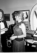 Lady Tryon. Blue Ball, Hurlingham. 26 June 1983.  *** Local Caption *** -DO NOT ARCHIVE-© Copyright Photograph by Dafydd Jones. 248 Clapham Rd. London SW9 0PZ. Tel 0207 820 0771. www.dafjones.com.