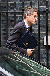 London, October 24 2017. Chief Whip (Parliamentary Secretary to the Treasury) Gavin Williamson leaves the UK cabinet meeting at Downing Street. © Paul Davey