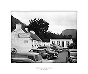 """Kate Kearney's Cottage, Killarney.05/05/1958..Kate was a beauty in Ireland before the Famine. At this cottage, Kate made her famous potion """"Kate Kearney's Mountain Dew"""", which was illegal. She found ways to twart the law though. ..http://www.katekearneyscottage.com/history.html"""