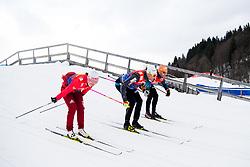 January 2, 2018 - Oberstdorf, GERMANY - 180102 Niklas Dyrhaug of Norway during a training session in Tour de Ski on January 2, 2018 in Oberstdorf..Photo: Jon Olav Nesvold / BILDBYRN / kod JE / 160116 (Credit Image: © Jon Olav Nesvold/Bildbyran via ZUMA Wire)