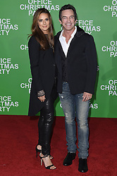 """Arrivals at the """"Office Christmas Party"""" film premiere in Los Angeles, California. 07 Dec 2016 Pictured: Jeff Probst and Lisa Ann Russell. Photo credit: Bauer Griffin / MEGA TheMegaAgency.com +1 888 505 6342"""