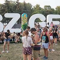 Sziget Festival held in Budapest, Hungary on Aug. 8, 2018. ATTILA VOLGYI