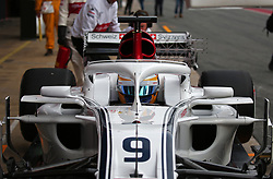 February 26, 2018 - Barcelona, Catalonia, Spain - the Alfa Romeo Sauber of Marcus Ericsson during the tests at the Barcelona-Catalunya Circuit, on 27th February 2018 in Barcelona, Spain. (Credit Image: © Joan Valls/NurPhoto via ZUMA Press)