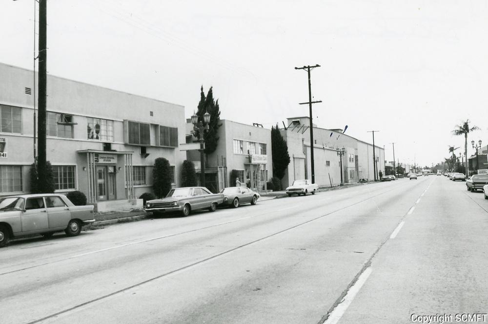 1974 Cinema General Studios on Cahuenga Blvd.