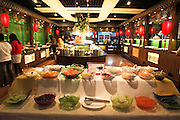 China, Beijing, Chinese restaurant buffet