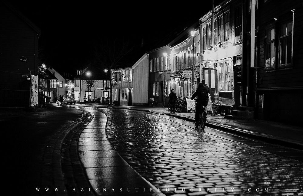Picture has been taken in Bakklandet area the downtown of Trondheim. This place is my favorite place for photography.