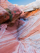 Rock detail at White Pocket, Paria Plateau, Vermilion Cliffs National Monument, Arizona.