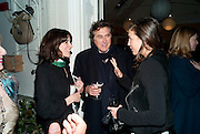 BELLA FREUD; BRYAN FERRY; AMANDA SHEPPARD, Party for Perfect Lives by Polly Sampson. The 20th Century Theatre. Westbourne Gro. London W11. 2 November 2010. -DO NOT ARCHIVE-© Copyright Photograph by Dafydd Jones. 248 Clapham Rd. London SW9 0PZ. Tel 0207 820 0771. www.dafjones.com.