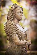 Dames Goyesca statue in Ronda, Spain