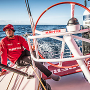 Leg 7 from Auckland to Itajai, day 18 on board MAPFRE, 04 April, 2018.