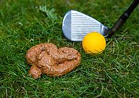 DORDRECHT  - Urban Golf , straat golfen, kids, kinderen spelen urban golf, hondenpoep,  COPYRIGHT KOEN SUYK