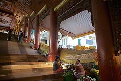 Flower Vendors, Shwedagon Pagoda