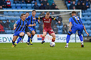 Bradford City midfielder Lewis O'Brien (39) during the EFL Sky Bet League 1 match between Gillingham and Bradford City at the MEMS Priestfield Stadium, Gillingham, England on 27 October 2018.