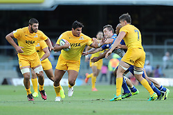 Cristian Bartoloni of the Jaguares during the Super Rugby match between DHL Stormers and Jaguares held at DHL Newlands in Cape Town, South Africa on the 4th March 2017.<br /> <br /> Photo by Ron Gaunt/Villar Press