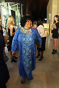 June 12, 2017-New York, New York-United States:  Ambassador Zindizi Mandela attends ' Cocktails & Conversation with Ambassador Zindzi Mandela 'highlighting the advocacy for the equity and rights of girls and women held at the Lincoln Ristorante at Lincoln Center on June 12, 2017 in New York City. Powered by CareerBox Soweto, the organization's mission is fulfill the hopes and dreams of youth of South Africa. (Photo by Terrence Jennings/terrencejennings.com)