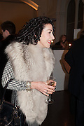 ELIZABETH DAVID, Mariko Mori opening, Royal Academy Burlington Gardens Gallery. London. 11 December 2012.