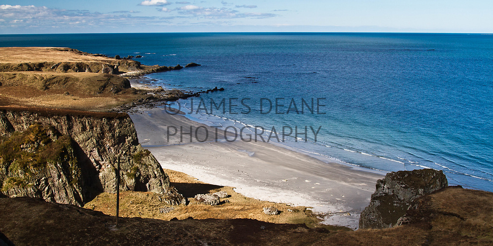 Islay's finest beach in the far North of the Island