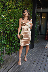 12 August 2021 - A dinner to celebrate the launch of Ghost Fragrances' alluring new scent , 'Orb of Night' held at The Mandrake Hotel, 20-21 Newman Street, London. <br /> Picture shows - Manrika Khaira<br /> <br /> Photo by Dominic O'Neill/Desmond O'Neill Features Ltd.  +44(0)1306 731608  www.donfeatures.com