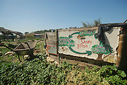Israel, Ecological farm, Organic farming The cycle of compost from waste to fertilizer