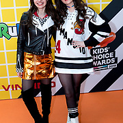 NLD/Amsterdam/20180325 - Nickelodeon Kid's Choice Awards 2018, Sarah Nauta en zus Julia Nauta