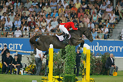 Ward Mclain (USA) - Sapphire<br /> Mercedes-Benz Preis part of the Meydan FEI Nations Cup<br /> CHIO Aachen 2009<br /> Photo © Dirk Caremans