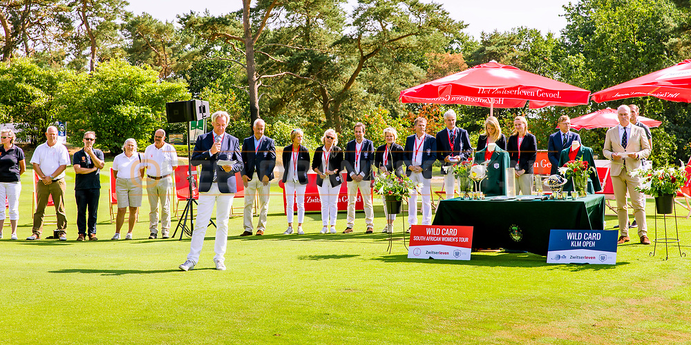 21-07-2018 Pictures of the final day of the Zwitserleven Dutch Junior Open at the Toxandria Golf Club in The Netherlands.  Mark van Langeveld, President of the Dutch Junior Open at Toxandria