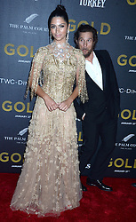 Matthew McConaughey and Camila Alves attending the world premiere of Gold at the AMC Lincoln Square Cinemas in New York City, NY, USA, on January 17, 2017. Photo by Dennis Van Tine/ABACAPRESS.COM