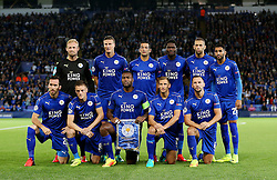 Leicester City team group - Mandatory by-line: Matt McNulty/JMP - 27/09/2016 - FOOTBALL - King Power Stadium - Leicester, England - Leicester City v FC Porto - UEFA Champions League
