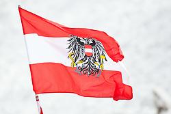 13.03.2010, Goudyberg Herren, Garmisch Partenkirchen, GER, FIS Worldcup Alpin Ski, Garmisch, Men Slalom, im Bild Feature, österreichische Nationalflagge, EXPA Pictures © 2010, PhotoCredit: EXPA/ J. Groder