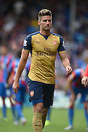 Olivier Giroud of Arsenal looking on. Barclays Premier league match, Crystal Palace v Arsenal at  Selhurst Park in London on Sunday 16th August 2015.<br /> pic by John Patrick Fletcher, Andrew Orchard sports photography.