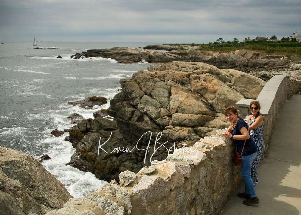 Rhode Island with friends.  ©2019 Karen Bobotas Photographer