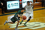 Ursuline at Elyria Catholic boys JV basketball on February 22, 2014. Images © David Richard and may not be copied, posted, published or printed without permission.