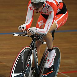 Vera Koedooder NK baanwielrennen 2011 Apeldoorn Achtervolging