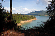 Batang Al Lake in Batang Al National Park, Kuching, Sarawak, Malaysian Borneo